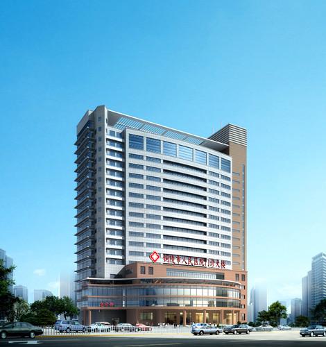安徽省铜陵市人民医院规划及建筑设计