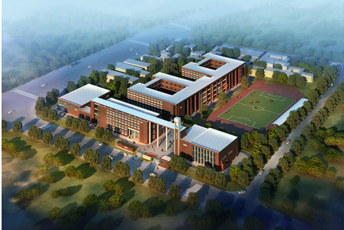 房县天明小学整体规划及建筑设计