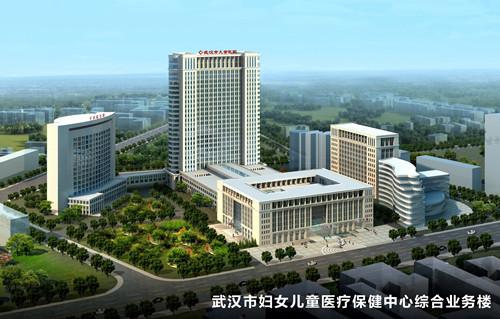 武汉市妇女儿童医疗保健中心综合业务楼