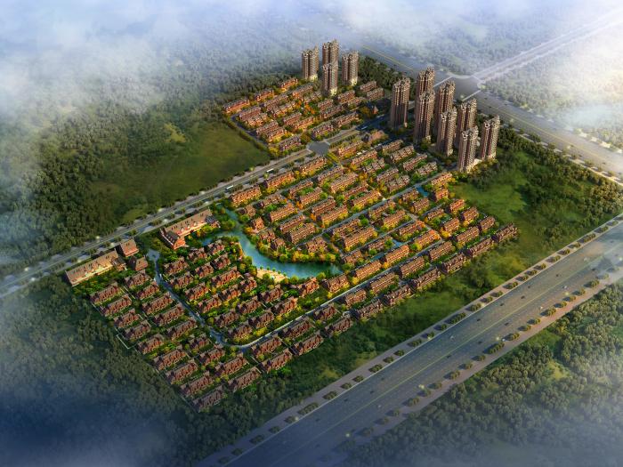 天津高村项目3-7、2-5地块方案设计