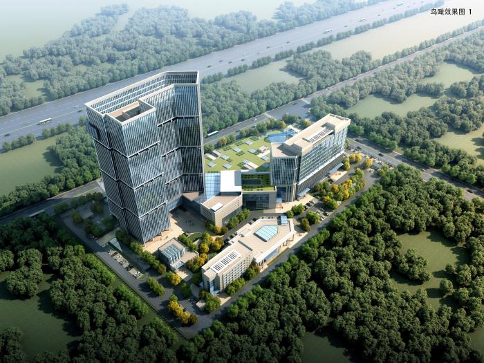 武汉导航与位置服务工业技术研究院有限责任公司研发园项目